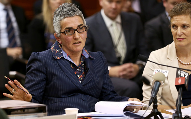 GCSB Acting Director Una Jagose (left) and NZ Intelligence Service Director Rebecca Kitteridge (right).