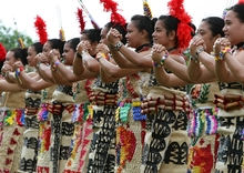 Tongan students