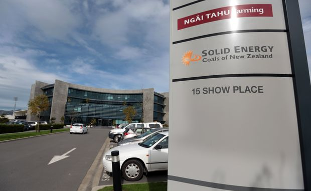 Solid Energy's headquarters.