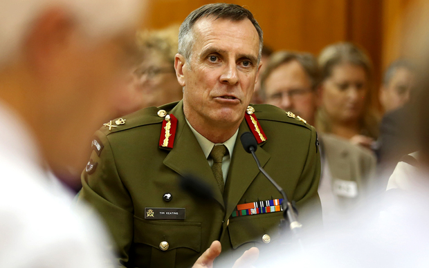 Chief of Defence Force Tim Keating