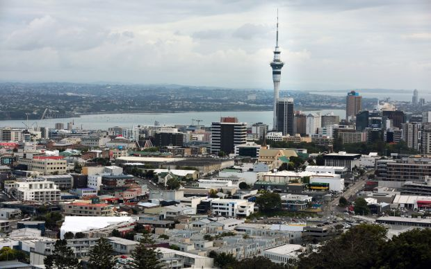 Auckland CBD from Mt Eden