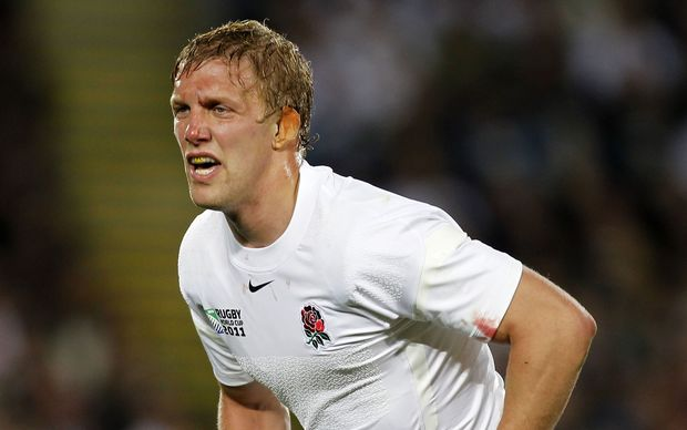 Former England rugby captain Lewis Moody.