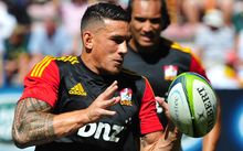 Sonny Bill Williams could be in doubt for the Sharks game after taking a head knock
