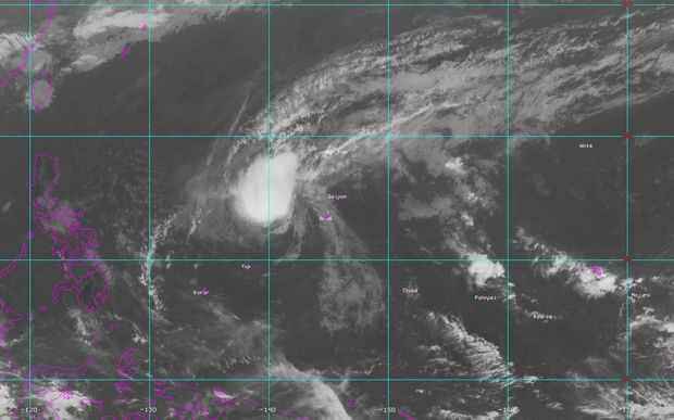 Tropical storm Bavi is moving away from CNMI