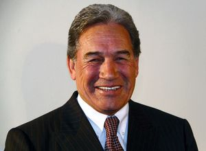 Winston Peters says John Key is doing backroom deals.