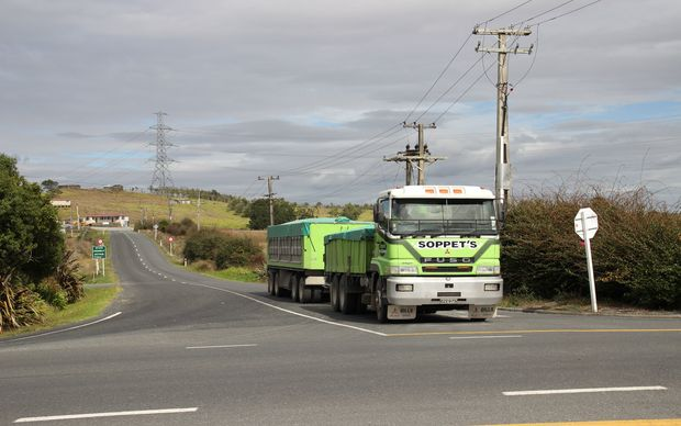 Heavy loads on rural roads