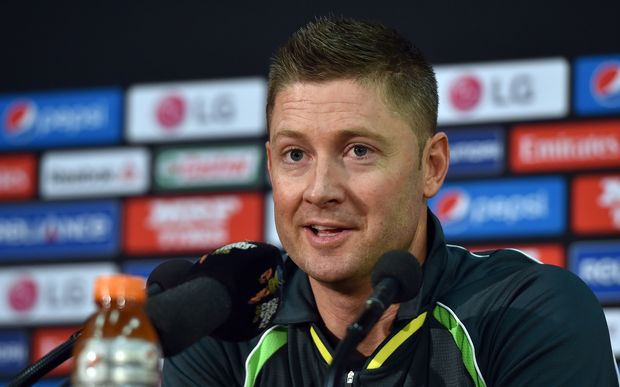 Australian cricket captain, Michael Clarke.