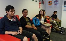 International students at Unitec in Auckland