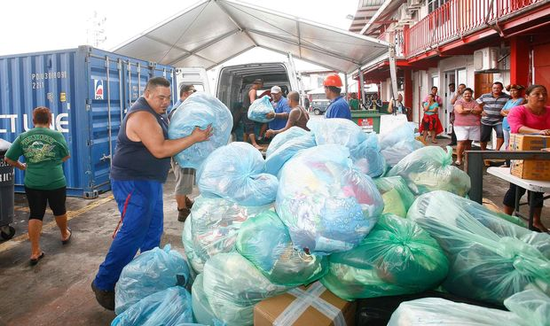French Polynesia sends supplies to Vanuatu's victims of Cyclone Pam
