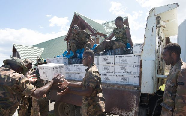 Water supplied in Vanuatu aid effort