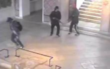An image grab taken from a closed circuit television footage released by the Tunisian interior ministry of the attackers.