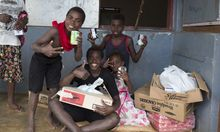 Food aid gets to Vanuatu victims of Cyclone Pam