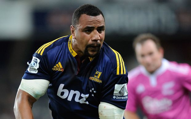 Nasi Manu in action for the Highlanders.