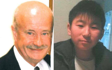 John Beckenridge, left, and Mike Zhao-Beckenridge