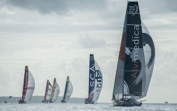 British yachtsman missing at sea after falling overboard during Volvo Ocean Race