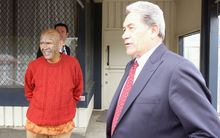 Winston Peters in Kaiwaka.