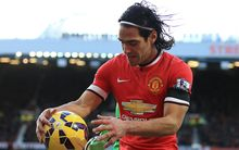 Radamel Falcao failed in his first EPL season at Manchester United.