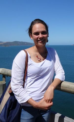 Katherine Clements recently completed a neurobiology degree at Harvard University, but decided that she wanted to spend a year as a volunteer with the Department of Conservation, studying seabirds.