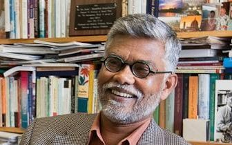 Academic Prof Brij Lal who was deported from Fiji in 2009