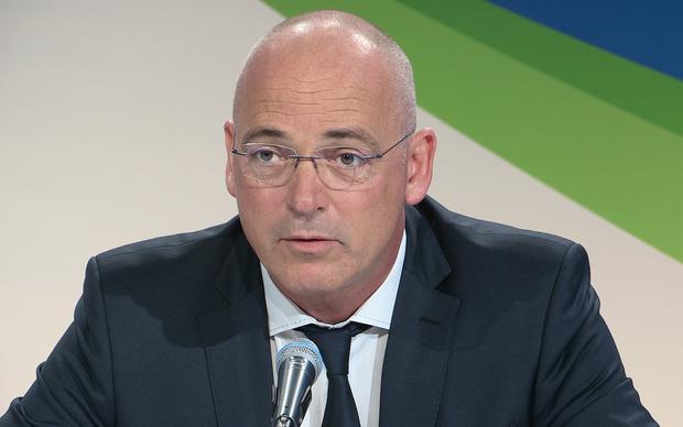Theo Spierings, Fonterra CEO