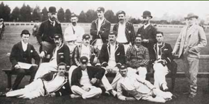 New Zealand cricket team in 1894.