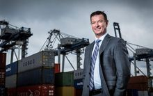 Ports of Auckland chief executive Tony Gibson