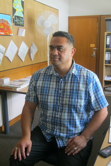 Robert Clarke, the principal of Whau Valley School in Whangarei