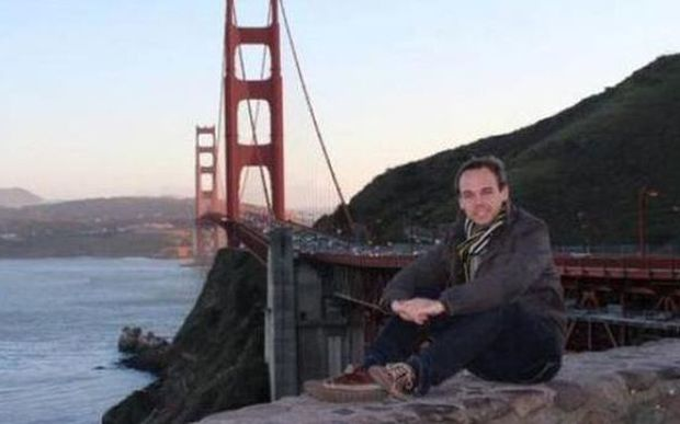 A photo of Andreas Lubitz taken from his Facebook page.