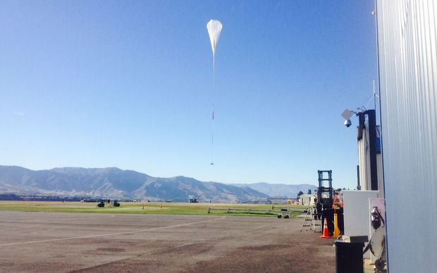 The NASA  balloon successfully launches from  Wanaka.