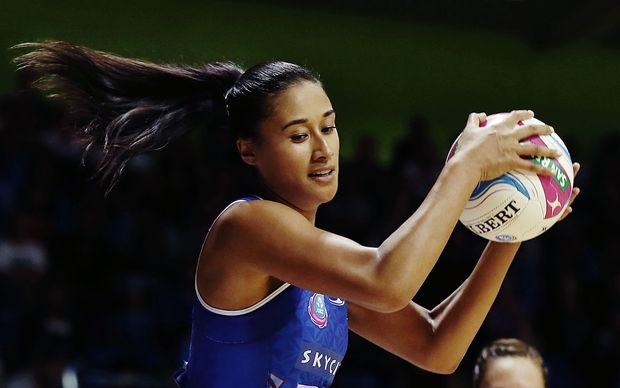 Maria Tutaia in action for the Mystics.