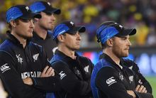The Black Caps cricketers during the World Cup.