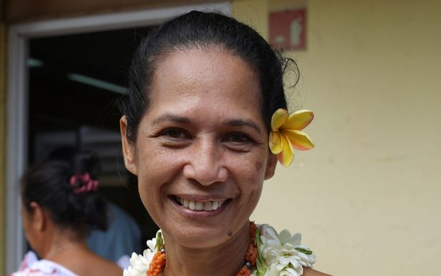 Teura Iriti of French Polynesia's Tahoeraa Huiraatira Party