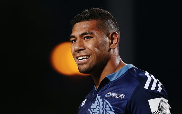 Charles Piutau on Blues duty