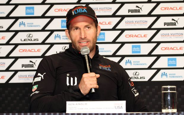 Ben Ainslie when he was with Oracle