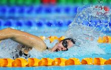 Lauren Boyle at the Australian swimming championships