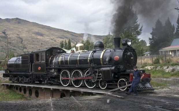 A file photo of the Kingston Flyer on a turntable in February 2012.
