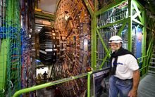 The LHC's four big experiments will not start colliding particles until at least May.
