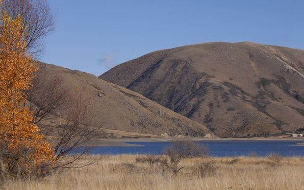 Lake Coleridge, South Canterbury.