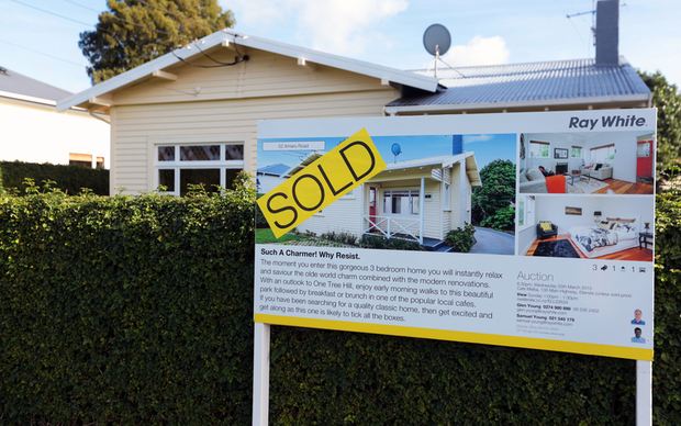 Sold house in Auckland
