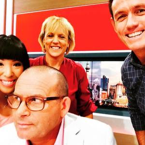 The first morning of the Paul Henry Show.
