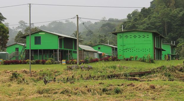 School in East New Britain, PNG.