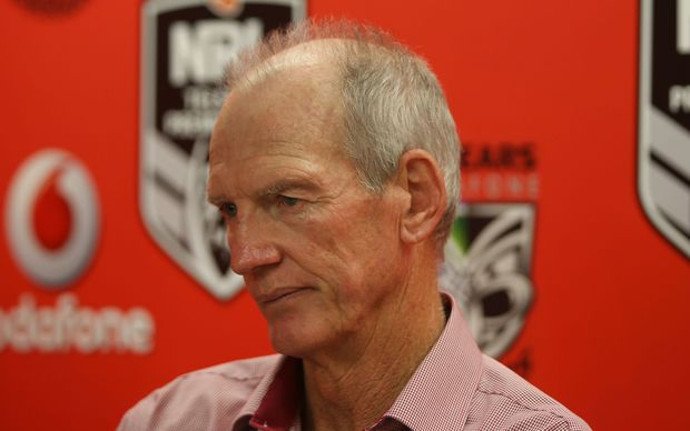 Wayne Bennett might smile soon after his Broncos won 5 straight to top the NRL table