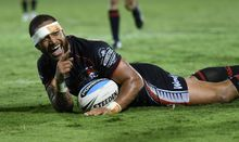 Manu Vatuvei - NZ Warriors
