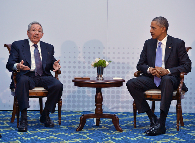 Raul Castro said that the two countries had 'agreed to disagree' when necessary.