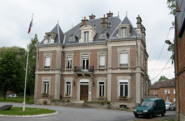 The possible site for the museum in Le Quesnoy
