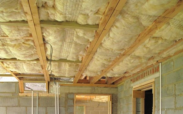 Ceiling insulation. Source: RadioNZ.co.nz