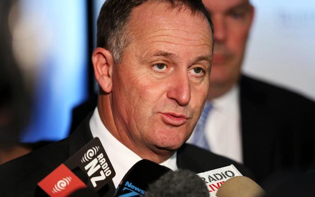 John Key after pre-budget speech to Business New Zealand.