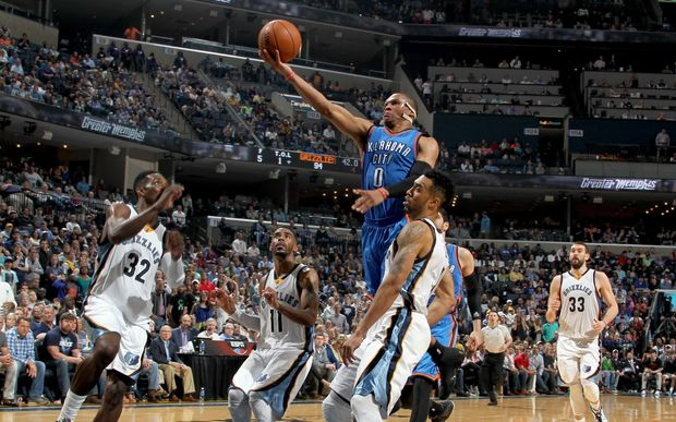 The Thunder's hopes depend on Russell Westbrook's athleticism