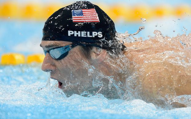 Michael Phelps intends to be back in the pool in Rio de Janiero.