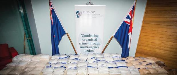 Methamphetamine seized in two Auckland operations.